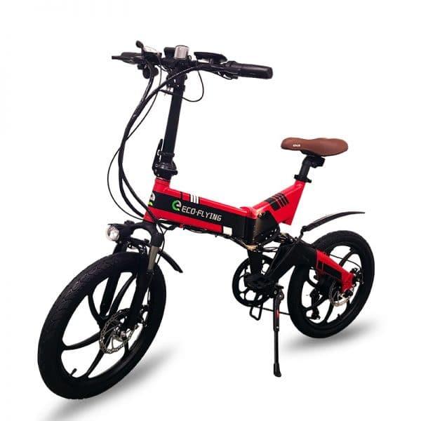 Elektrische opvouwbare fiets